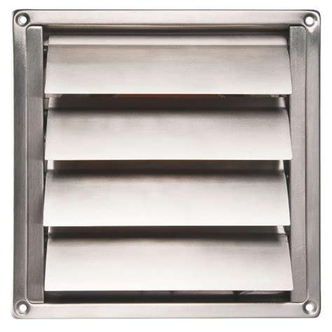 grille pour hotte de cuisine grille inox en applique pour hotte ø150 renson cazabox