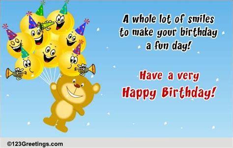 smiles  birthday  happy birthday ecards greeting