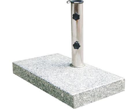 schirmstaender siena garden granit  kg grau bei hornbach