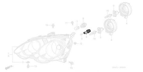 Acura Rsx Light Socket Parking Series Parts