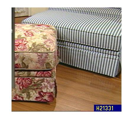 quot chair and a half quot storage ottoman by sealy qvc
