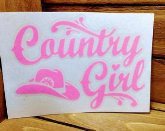 foto de Country girl decal Etsy