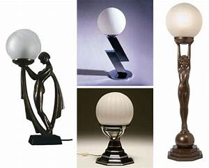 art deco table lamps uk images With art deco floor lamp nz