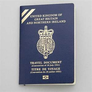 convention travel document passports With documents to go to uk
