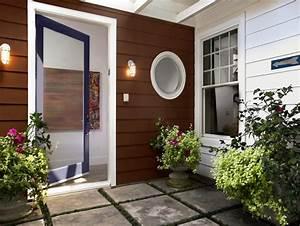 Exterior Home Entrance Decor Plants Home Design The