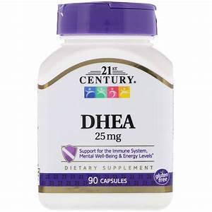 21st Century  Dhea  25 Mg  90 Capsules