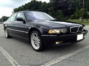 1999 Bmw 740il Black On Black