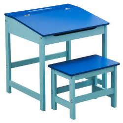 childrens mdf school writing drawing colouring homework desk and stool set ebay
