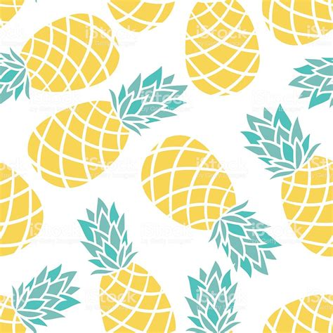 cartoon pineapple   white background stock vector art