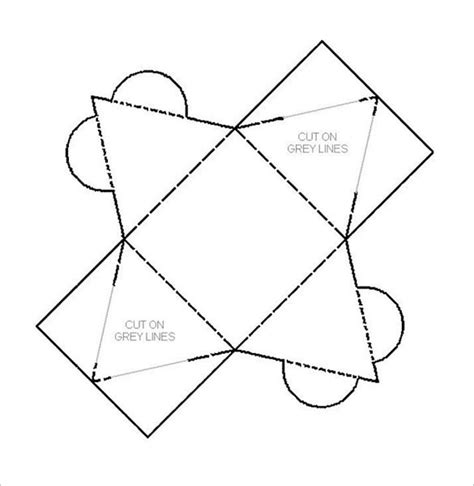 Pyramid Box Template  15+ Free Sample, Example, Format