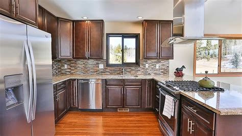 kitchen cabinets for used best 25 espresso kitchen cabinets ideas on 8042