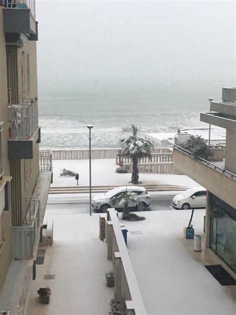Meteo Salento Porto Cesareo Maltempo In Salento Storica Irruzione Gelida Nevica A