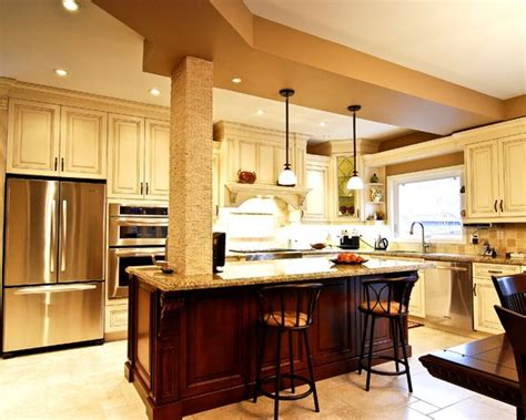 kitchen islands with columns 28 best support beam images on columns 5271