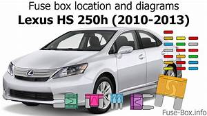 Fuse Box Location And Diagrams  Lexus Hs250h  2010