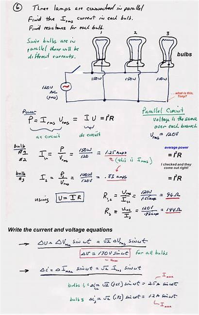 Physics Circuits Ac Electrical Engineering Diagram Sdsu