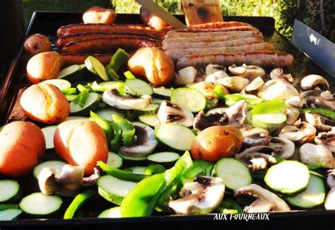 cuisiner sur plancha légumes grillés à la plancha aux fourneaux