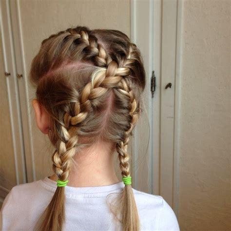 coiffure fille tresse nattes crois 233 es coiffure facile fille coiffures