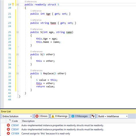 series part  read  structs mark zhous tech blog