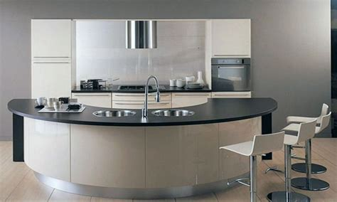 Kitchen Curved Kitchen Island pictures, decorations