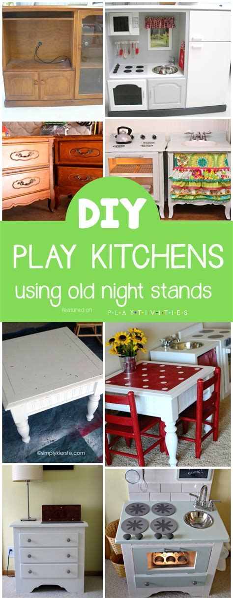 Repurposing Old Furniture. Kid friendly ideas   PLAYTIVITIES