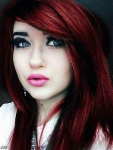 Dark Brown Red Violet Hair Color 2015-2016 | Fashion ...
