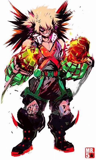 Bakugou Katsuki Academia Hero Deviantart Mr5star Manga