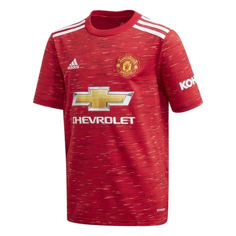 Manchester united ist einer der größten vereine der welt und ihre trikots gehören dementsprechend auch zu den beliebtesten trikots in der fußballwelt. adidas Kinder Manchester United Home Trikot 20/21 ...