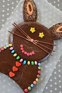 Recette De Gateau Pour Enfant : g teau lapin au chocolat recette enfant chocolat dessert au chocolat en 2019 cake ~ Melissatoandfro.com Idées de Décoration