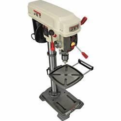 "JET Benchtop Drill Press — 12"" Swing, Model# JDP12 Drill"