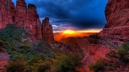 Sedona Desktop Az Arizona Sunset Background Rock