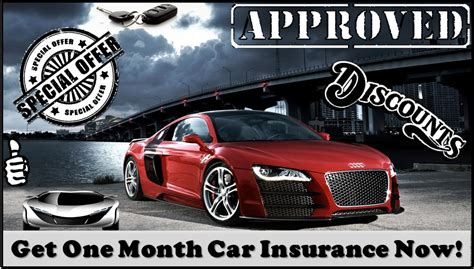 30 Day Car Insurance Policy - 1 Month Auto Insurance
