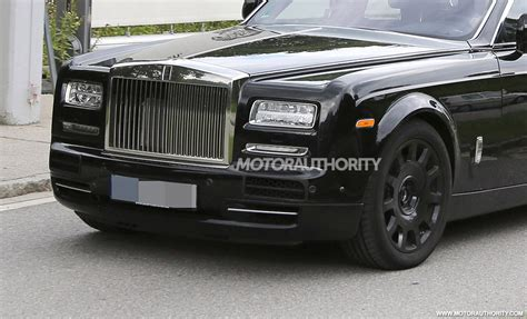 rolls royce phantom spy shots