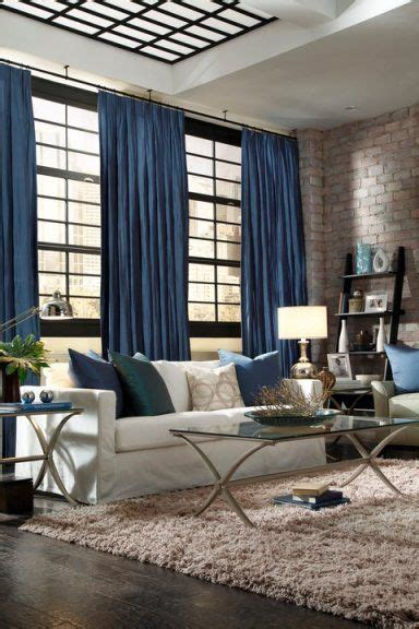 Blue Valances For Living Room by Trying To Decide On Curtains Or Valance For Living Room