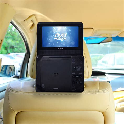 dvd player auto car headrest mount 7 standard portable dvd player holder