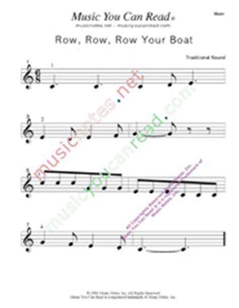 Row Row Row Your Boat Lyrics Notes by Quot Row Row Row Your Boat Quot Traditional Lyrics Notes