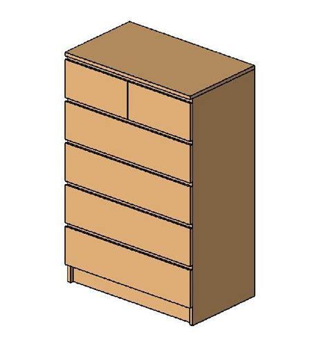 6 Drawer Dresser Ikea by Revitcity Object Ikea Malm 6 Drawer Dresser