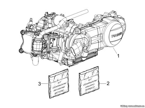 vespa motor komplett gts  super gts  super gts