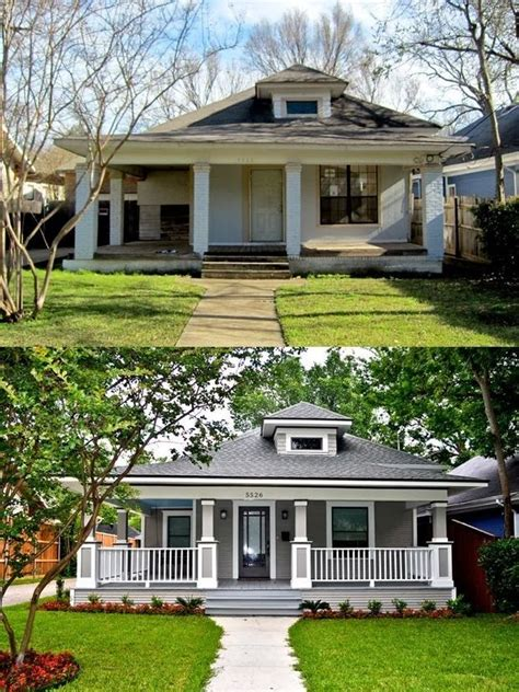 small house renovations before and after kerb appeal sells a small budget make over of the front of the house pays dividends via