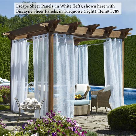 Outdoor Curtains by 3 Gorgeous Outdoor Curtains And What They Ll Do For Your