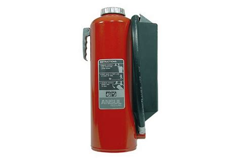 ansul red  cartridge operated fire extinguisher  lb