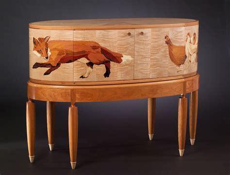 animal piano animal silas kopf woodworking inlaid wood marquetry