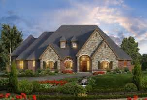 European Style Houses European Style House Plans 3681 Square Foot Home 1 Story 4 Bedroom And 3 Bath 3 Garage