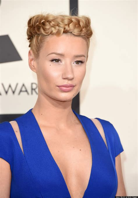 Iggy Azalea's Grammys Braid Crown Is A Sight To Behold