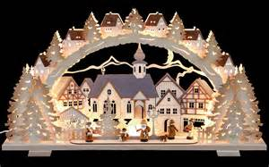 candle arch christmas time natural wood exclusive 72x41x7cm 28x16x3in ch by tietze