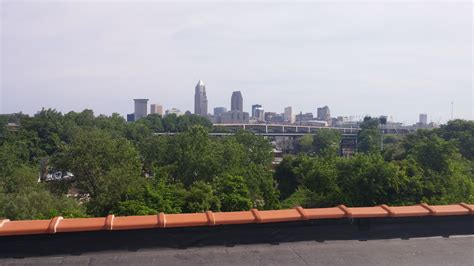 Back in 2016 we said its now or never. Tremont Athletic Club, Cleveland, Ohio - The view of downtown...