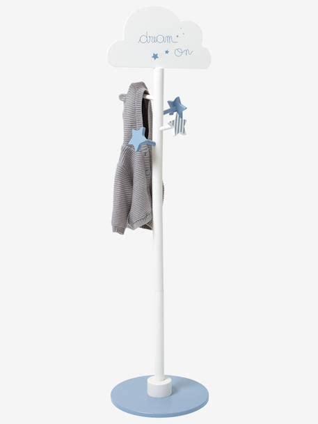 porte manteau enfant nuage blanc bleu vertbaudet