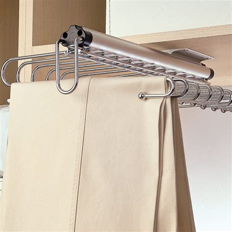 Closet Valet Rod by Pull Out Wire Rack Richelieu Hardware