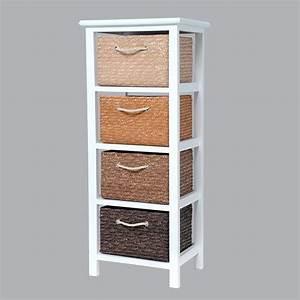Meuble A Panier : meuble panier chocolat meuble d co eminza ~ Teatrodelosmanantiales.com Idées de Décoration