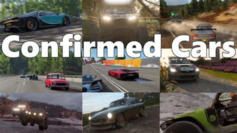 forza horizon 4 car list all confirmed cars so far
