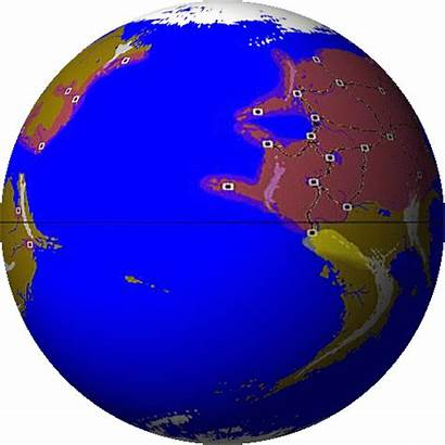 Globe Animated Spinning Clipart Gifs Funny Earth